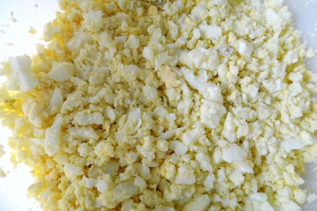 Pasta Jajeczna z serem żółtym