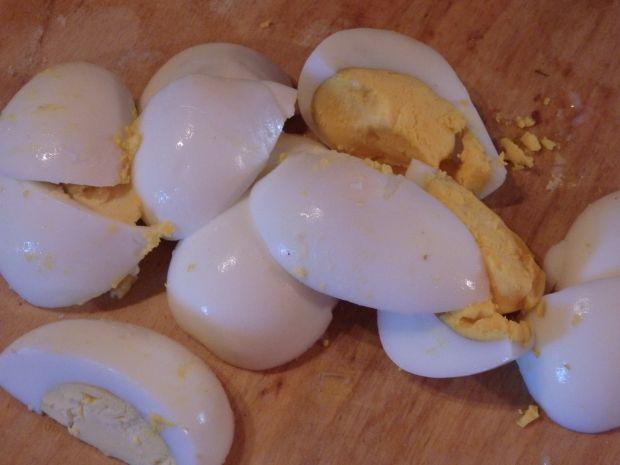 Pasta jajeczna z tuńczykiem