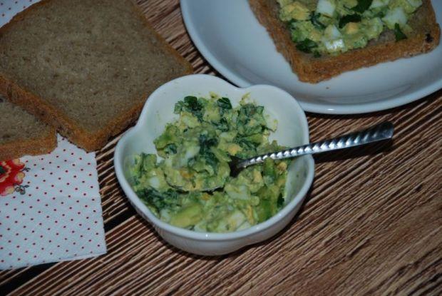 Pasta kanapkowa z awokado