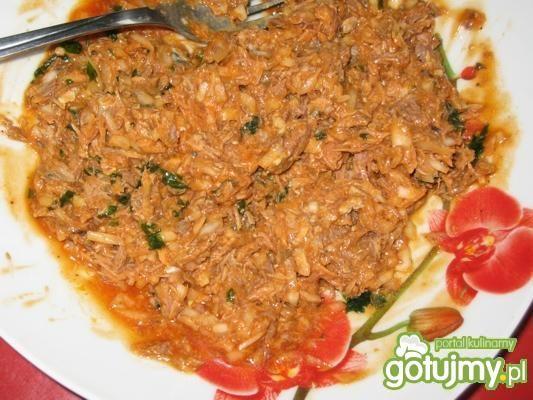 Pasta kanapkowa z makrelą w pomidorach
