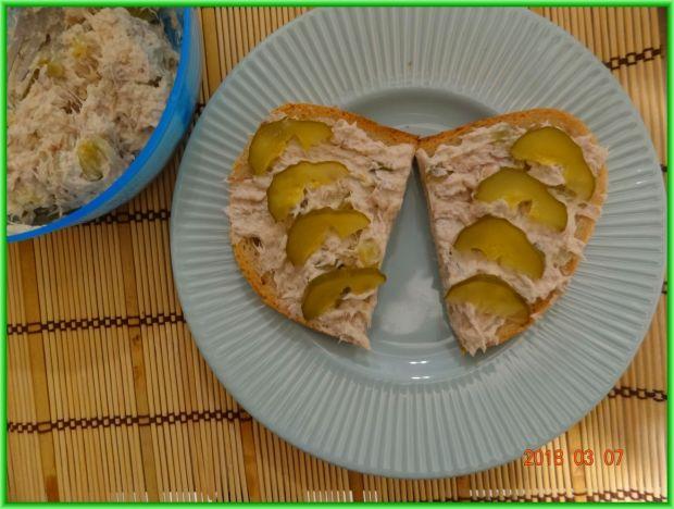 Pasta kanapkowa z makreli wędzonej