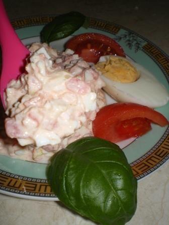 Pasta pomidorowo-jajeczna