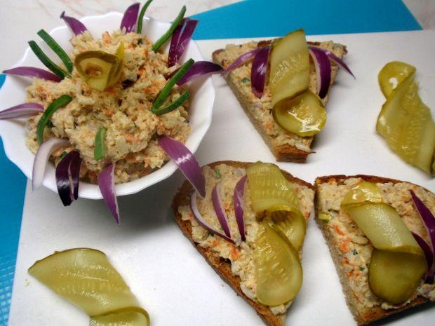 Pasta rybno warzywna