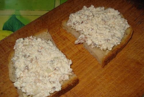 Pasta twarożkowo-makrelowa