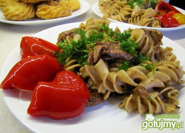 Pasta with meat - czyli makaron z mięsem