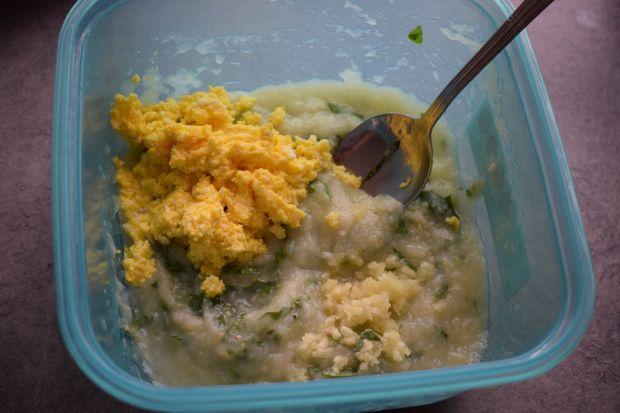 Pasta z białych szparagów i bazylii