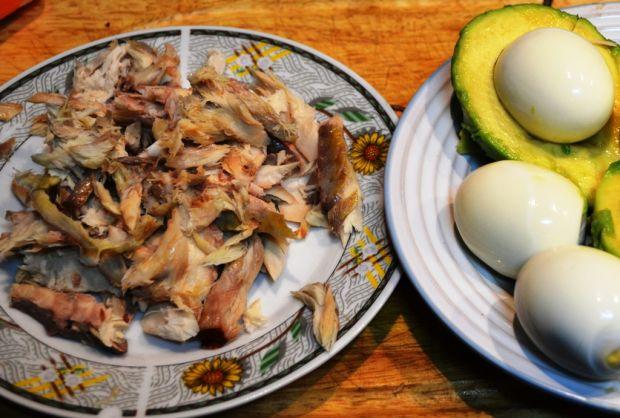Pasta z makreli i awokado