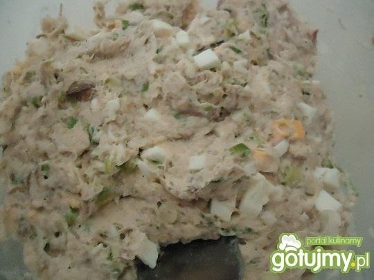 Pasta z makreli i kiszonych ogórków