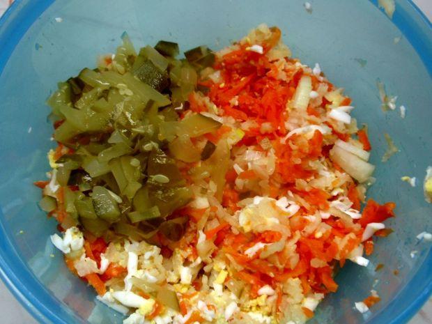 Pasta z makreli  selera i soczewicy czerwonej