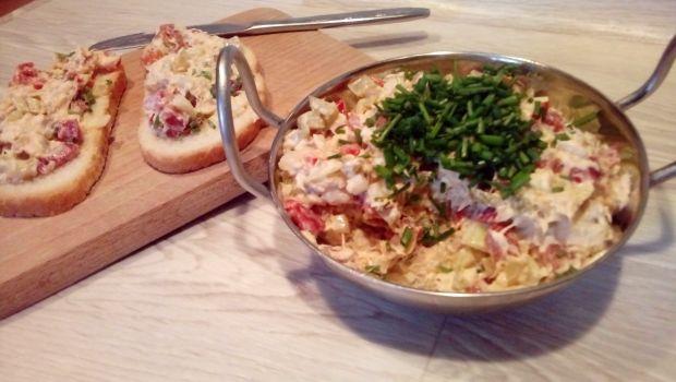 Pasta z makreli z papryką