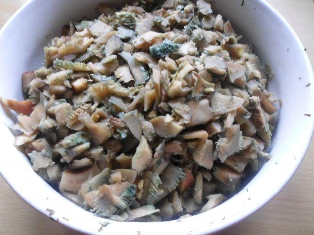 Pasta  z rydzy z pestkami słonecznika