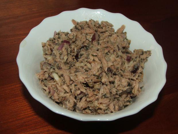Pasta z tuńczyka i bazylii