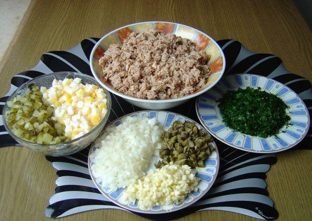 Pasta ze szprotek i tuńczyka