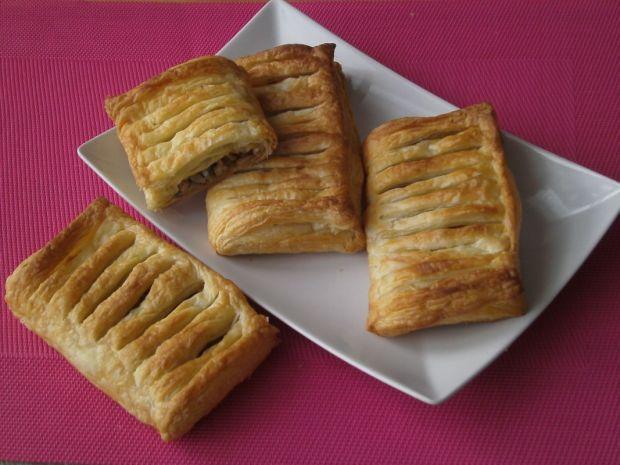 Paszteciki francuskie z pieczarkami