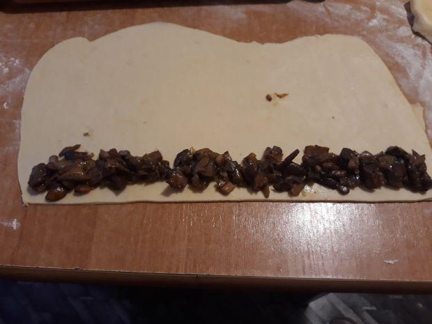 Paszteciki grzybowe mini