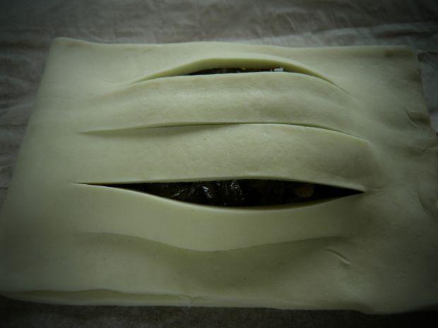 Paszteciki z kapustą i grzybami