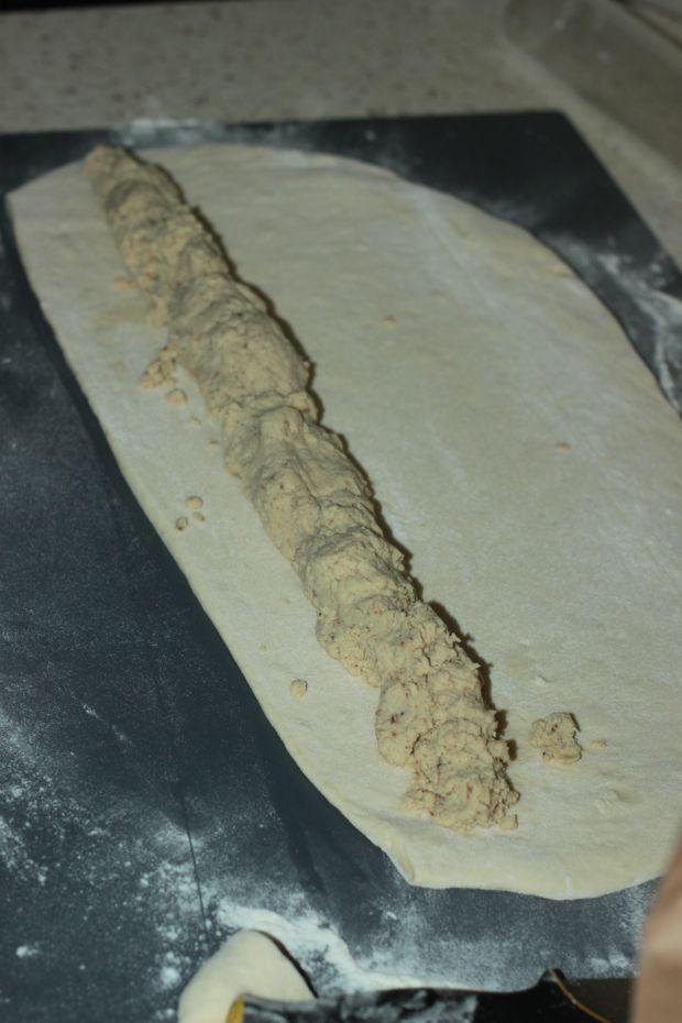Paszteciki ze schabu pieczonego