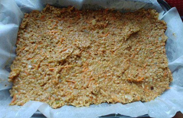 Pasztet warzywny (z cukinią) z kaszą jaglaną