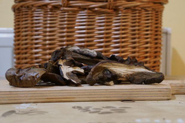 Pasztet z suszonych grzybów