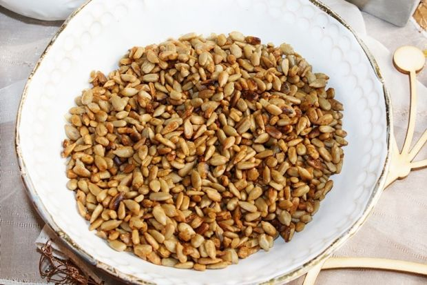 Nasiona słonecznika w maślanym karmelu