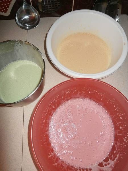 Pianka z mleka skondensowanego i z galaretek
