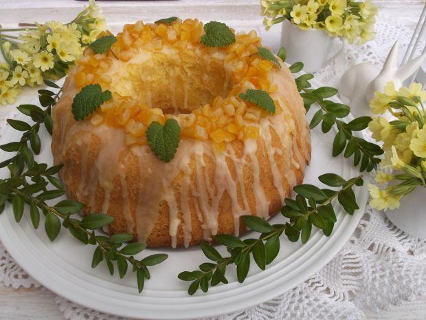 Piaskowa babka z pomarańczową nutką