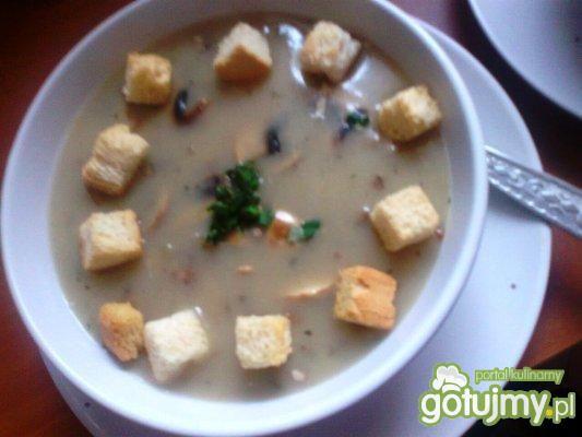 Pieczarkowa zupa