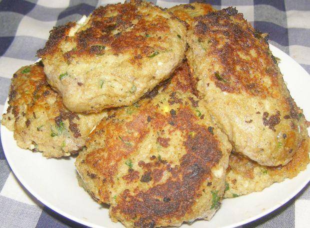 Pieczarkowo-ziemniaczano-jajeczne kotlety