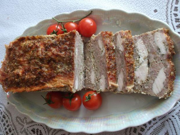 Pieczeń rzymska z filetem