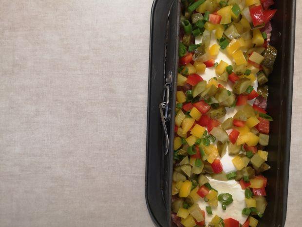 Pieczeń z warzywami