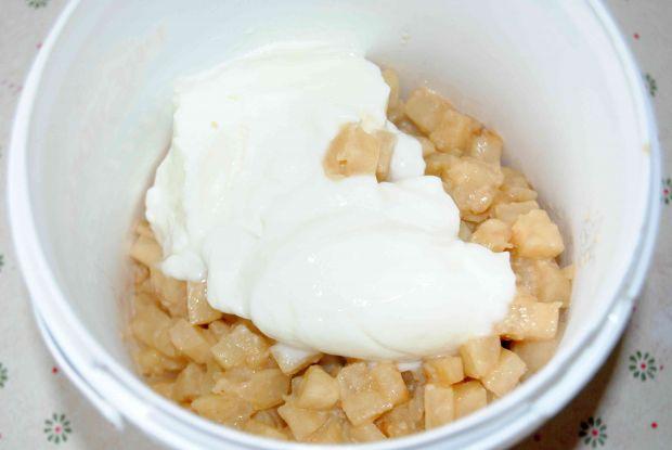 Pieczona szynka w selerowym puree