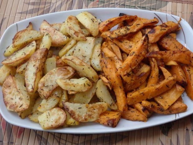 Pieczone bataty/ziemniaki