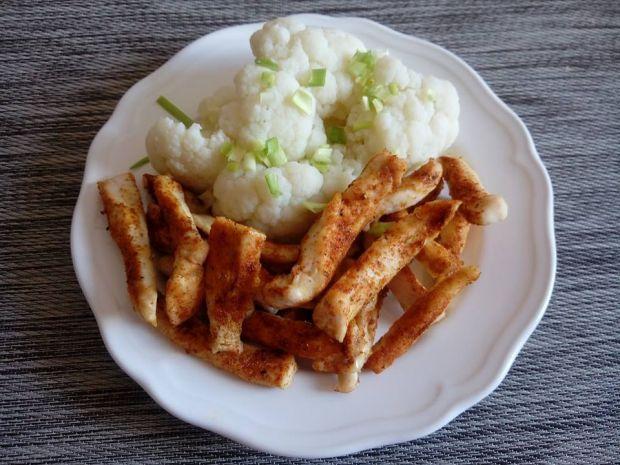 Przepis Pieczone Frytki Z Kurczaka Fit Przepis Gotujmy Pl