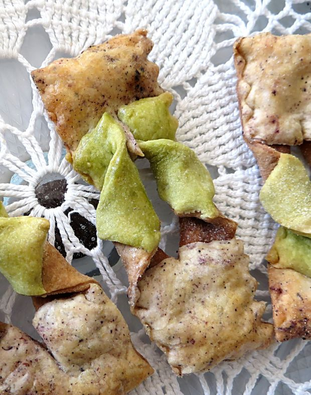 Pieczone Karnawałowe faworki i inne ciasteczka
