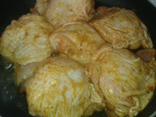 Pieczone kawałki kurczaka