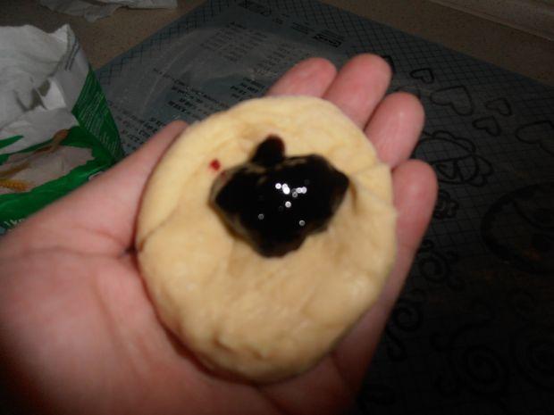 Pieczone pączki alla muffiny z nadzieniem