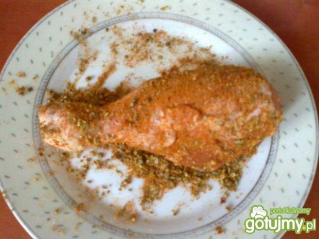 Pieczone pałki z kurczaka wg Megg