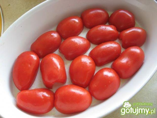 Pieczone pomidory w ziołowej zalewie