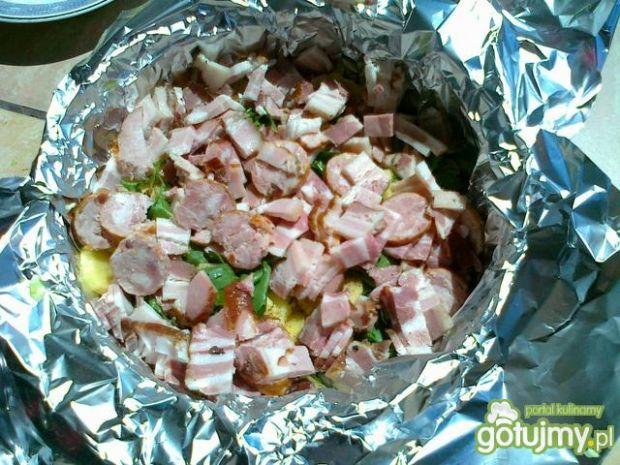 Pieczonki z kociołka na grillu