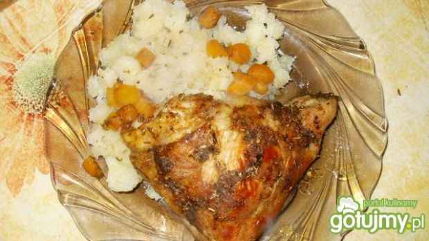 pieczony kurczak elki