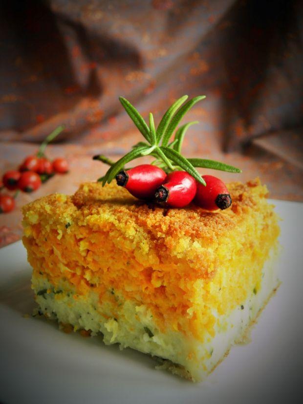 Pieczony torcik warzywny
