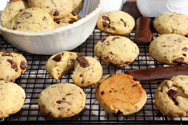Pieguski, czyli łatwe ciasteczka z czekoladą