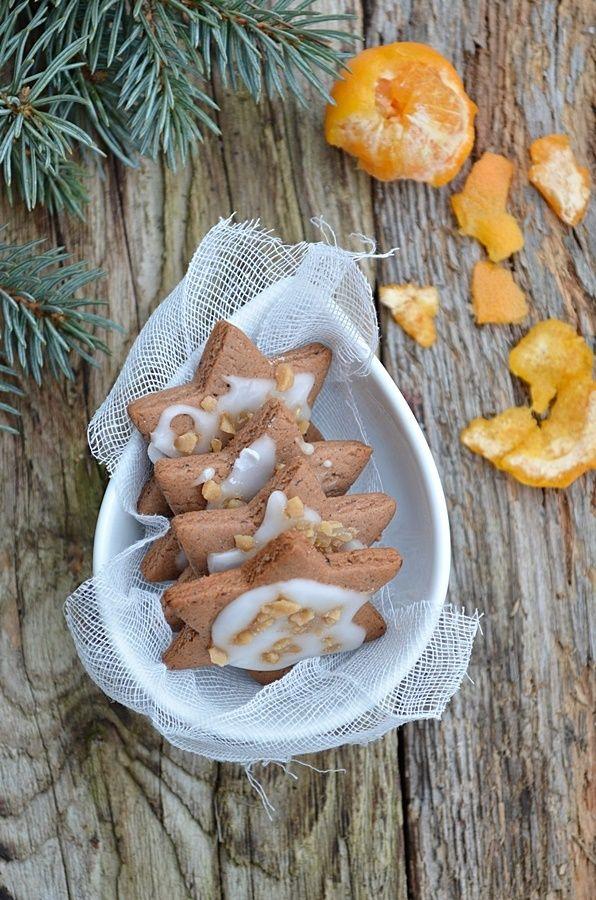 Pierniczki z lukrem pomarańczowym