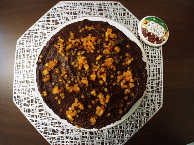 Piernik z kremem czekoladowym