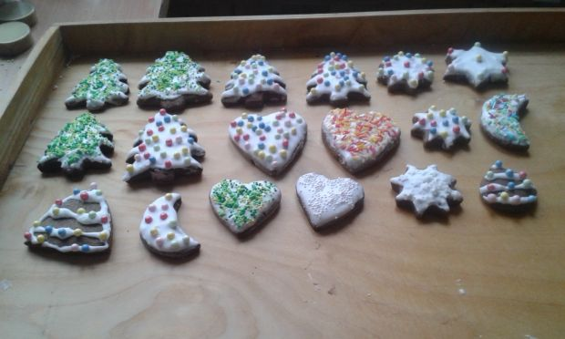 Piernikowe ciasteczka na świąteczny stół