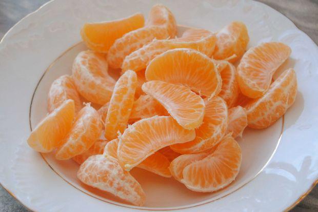 Pierogi z mandarynką