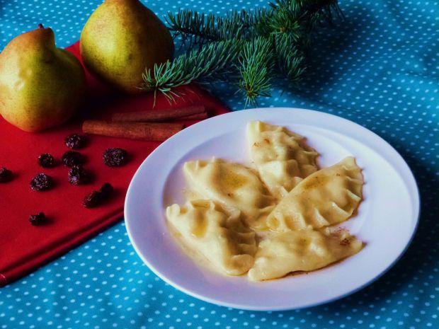Pierogi z serem i gruszkami