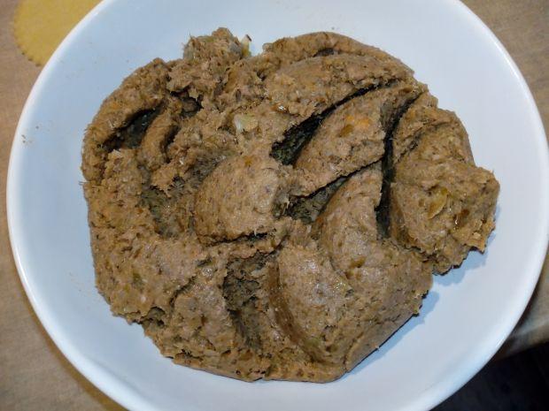 Pierogi z soczewicą i mięsem drobiowym