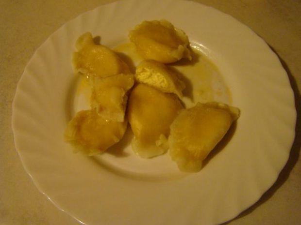 Pierożki na słodko z białym serem