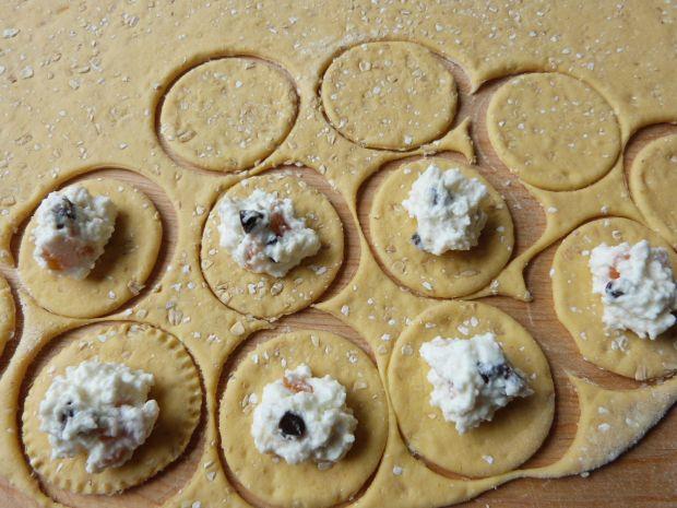 Pierożki z serem i czekoladą